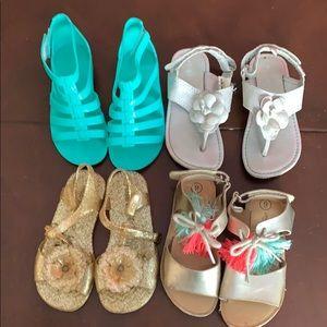 Fun toddler sandals